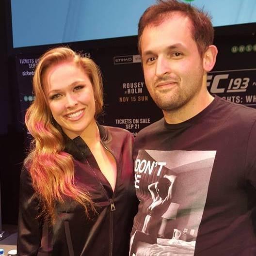 Sensei Steve & Ronda Rousey