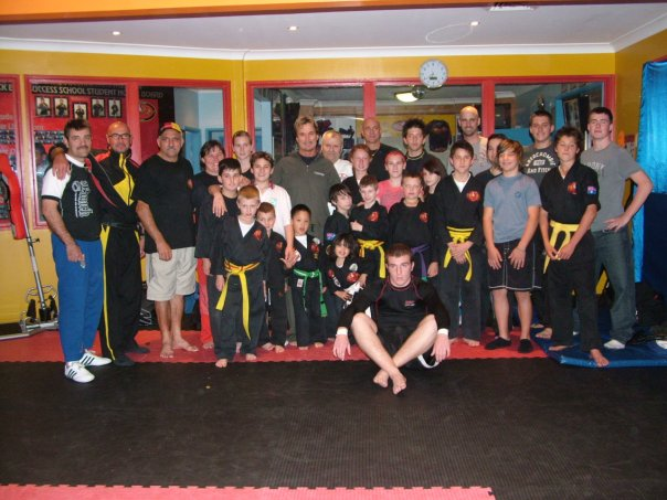 Our Students With Shihan Richard Norton